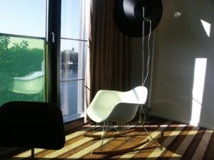 Hotel City Centre: Die Gäste schauen direkt auf die Weser.