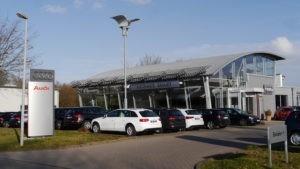 Jahreswagen Bremen am Standort im benachbarten Weyhe