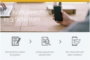 Wer ein Konto eröffnen oder wechseln will, kann das bei der Commerzbank auch mobil.
