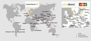 Das bietet die Commerzbank: Erst Konto eröffnen, dann an rund 9000 Geldautomaten weltweit Geld abheben können.