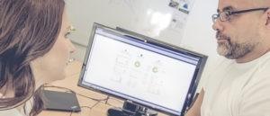 """Sie Internetagentur plant ein individuelles Design – natürlich responsive, denn modernes Webdesign bedeutet """"mobile first""""."""