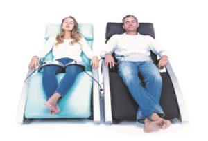 Radiofrequenztherapie Bremen: Eine Behandlung mit Bewei können Paare auch zu zweit genießen.