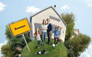 Baufinanzierung Bremen: Bei der Interhyp gibt es Hilfe, um den Traum vom Eigenheim zu realisieren.