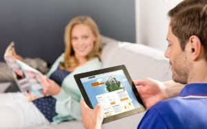 Die digitalen Tools können sich Interhyp-Kunden über das Thema Baufinanzierung in Bremen vorab informieren.
