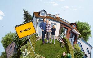Wer mit einer Finanzierungseinschätzung in Bremen auf Haussuche geht, hat größere Chancen, in Bremen ein Haus zu finden.