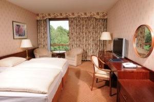 Kurzurlaub Bremen: Das Maritim Hotel verfügt über gemütliche Zimmer.