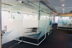 Glastrennwand Büro Oldenburg