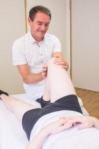 Die Diagnose ist bei Schmerzen im Knie entscheidend.