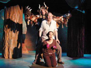 """""""Der Grüffelo"""" ist auf der Bühne im Metropol Theater Bremen zu sehen - in einer Inszenierung des Jungen Theaters Bonn."""