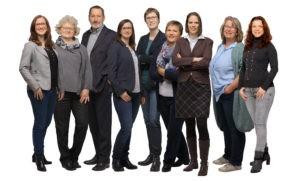 Teamfoto der Kanzlei Baumann-Czichon