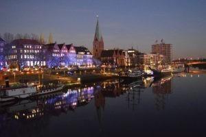 Bremen Wochenende: Die Schlachte an der Weser