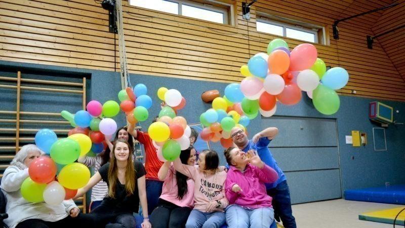Sport und Spiel im Waldheim Stiftung